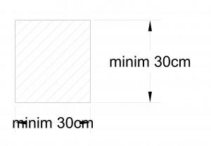 dimensiune minima stalp din beton armat