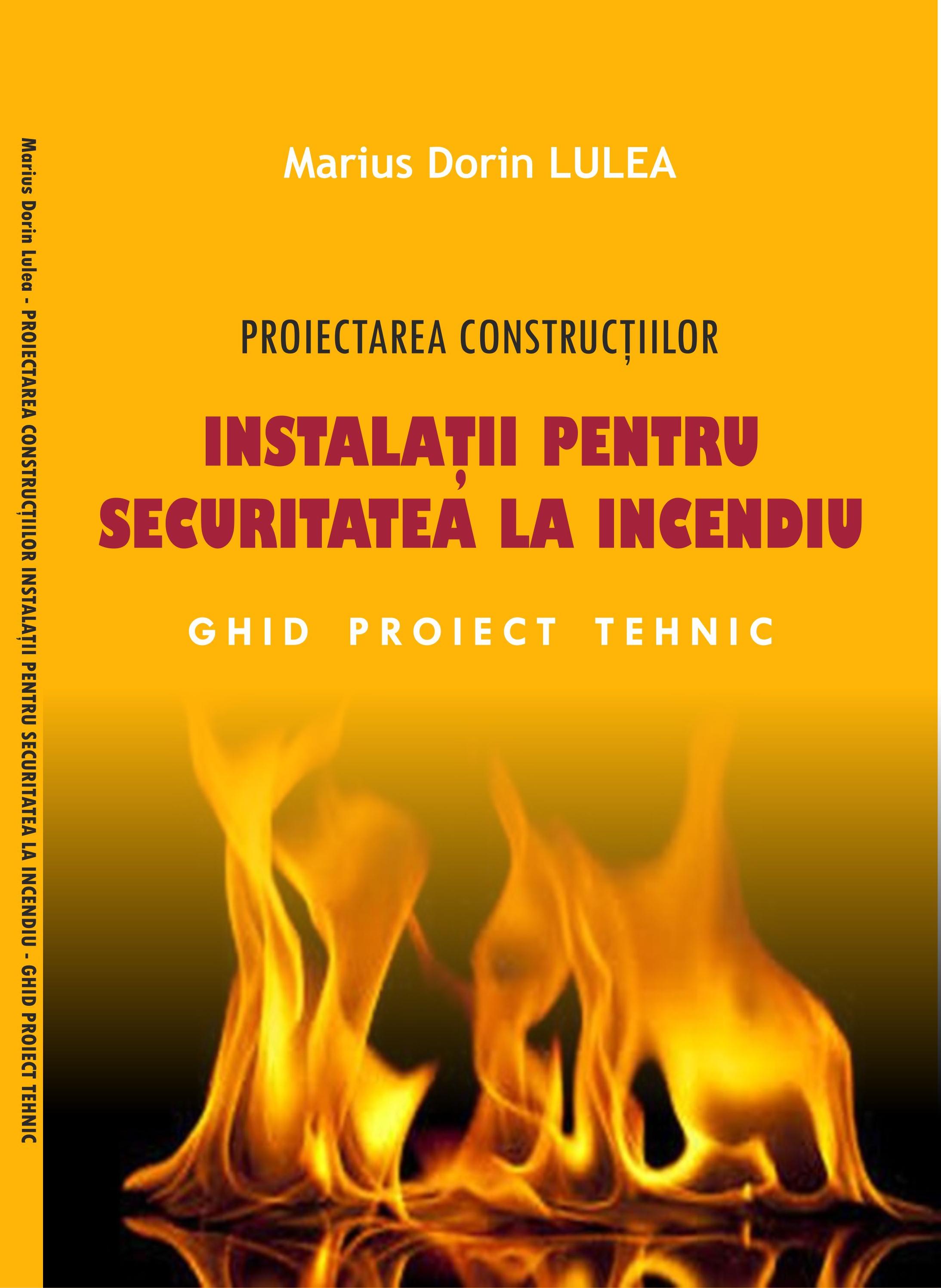 carte instalatii pentru securitatea la incendiu a constructiilor lulea marius dorin